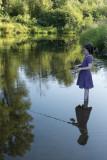 Fishing Johanna and reflection