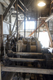 Machinery inside the dredge