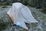 Frozen tent