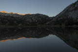 First sunlight at Frazier Lake
