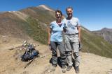 Teresa and Markus at Polaris Pass