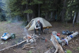 Aneroid Lake forest camping