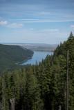 Wallowa Lake on the hike out