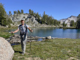 Arrived at Glacier Lake