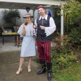 Pirate and French Lady