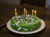 Dragon Blood birthday cake