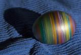 metallic stripes egg
