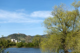 Beautiful scenery along the Bruchsee