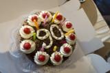The birthday cake: Schwarzwälder Kirschtorte