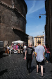 Backside of the Pantheon (and of my two sons :-)