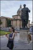 My daughter and Julius Ceasar