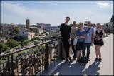 My family and I at Palatine Hill...