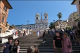 The spanish steps....