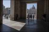 At St.Peter`s Square...