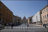 View towards St. Peter`s....