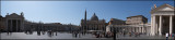 Pano of St. Peter`s square...