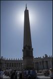 Obelisk at St.Peter`s....