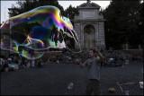 Bubbles in Trastevere