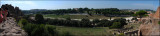 Pano of the Circus Maximus seen from Palatine Hill