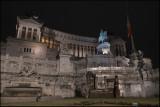 Altare della Patria at night...