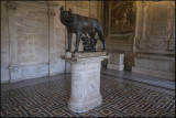 From Musei Capitolini.Romulus and Remus....
