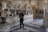 From Musei Capitolini.(The room of the emperors)
