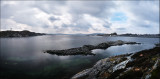 Pano from Ramsøy, a walk to clear my head... :-)