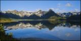 From Grunnførfjord, the Lofoten Islands....