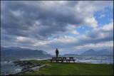 A windy Hardangerfjord,Norway...