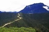 Freeport Indonesia's mine haul highway