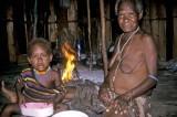 Displaced Dani tribespeople in Timika, Indonesian Papua