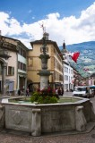 Fountain in the Rue Grand-Pont, Sion