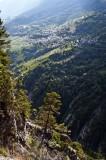 Tributary valleys near Savièse