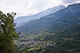 Valley views over Savièse