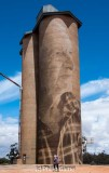 Silo art by Rone at Lascelles