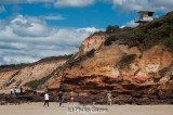 Lifesavers' lookout above the cliffs at Anglesea