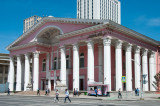 Russian influence is evident in the State Opera & Ballet Theatre on Sukhbaatar Square