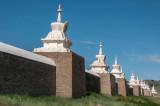 Outside the walls of Erdene Zuu Khiid, Kharkorin, Mongolia