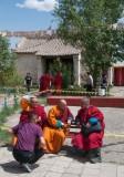 Buddhist monks, Erdene Zuu.