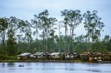 Coastal village near the mining port of Amamapare, West Papua