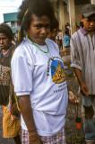 Melanesian woman at Timika, West Papua