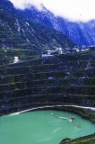Grasberg, West Papua: a deep pit has replaced a mountain of ore