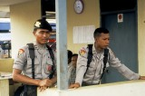 Indonesian police maintain close watch for disturbances