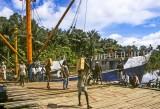 River port at Pomako