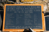 War Memorial H.M.S. Sheffield - Oorlogsmonument H.M.S. Sheffield