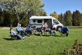 Camping Parc Farran, Ingleside, Ontario du 10 au 14 octobre 2019