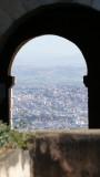 Rova of Antananarivo city view