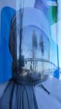 Ad Reflection along the Embarcadero