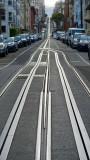 Washington Street Cable Car Tracks