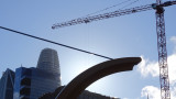 Cupid's Arrow, Salesforce Tower, Big Crane